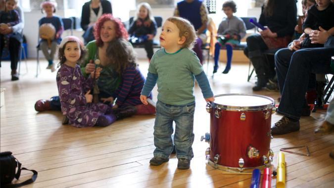 Glasgow Improvisers Orchestra GIObabies: Creative music workshop