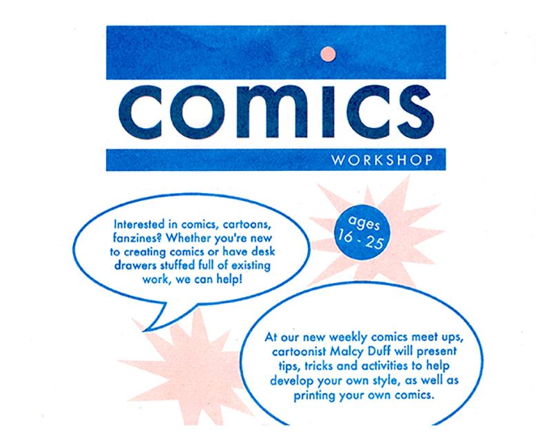 Comics workshop