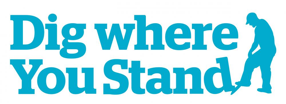 Dig Where You Stand Storytelling Outreach Campaign