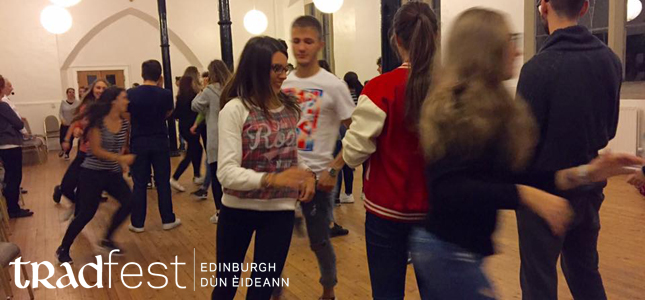 SCOTTISH DANCE WORKSHOP FOR TEENAGERS