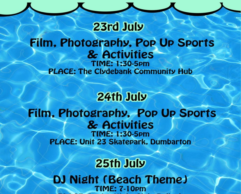 Photography Workshop & Pop Up Sports