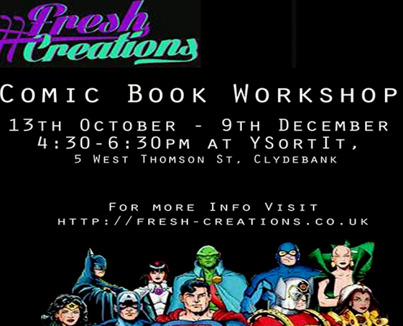 Comic Book Making Workshop