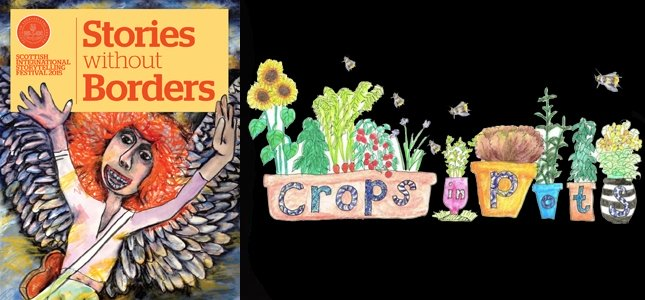 CROPS IN POTS: HARVEST STORIES IN THE GARDEN